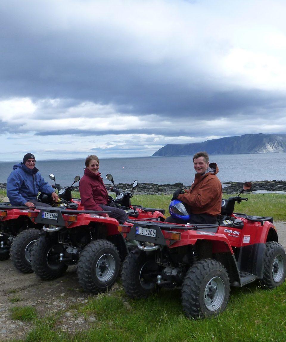 2 Days Quad bike trout fishing Safari – NordicSafari.no