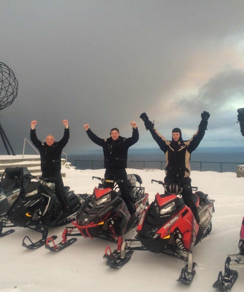 Snowmobile - nordkapp