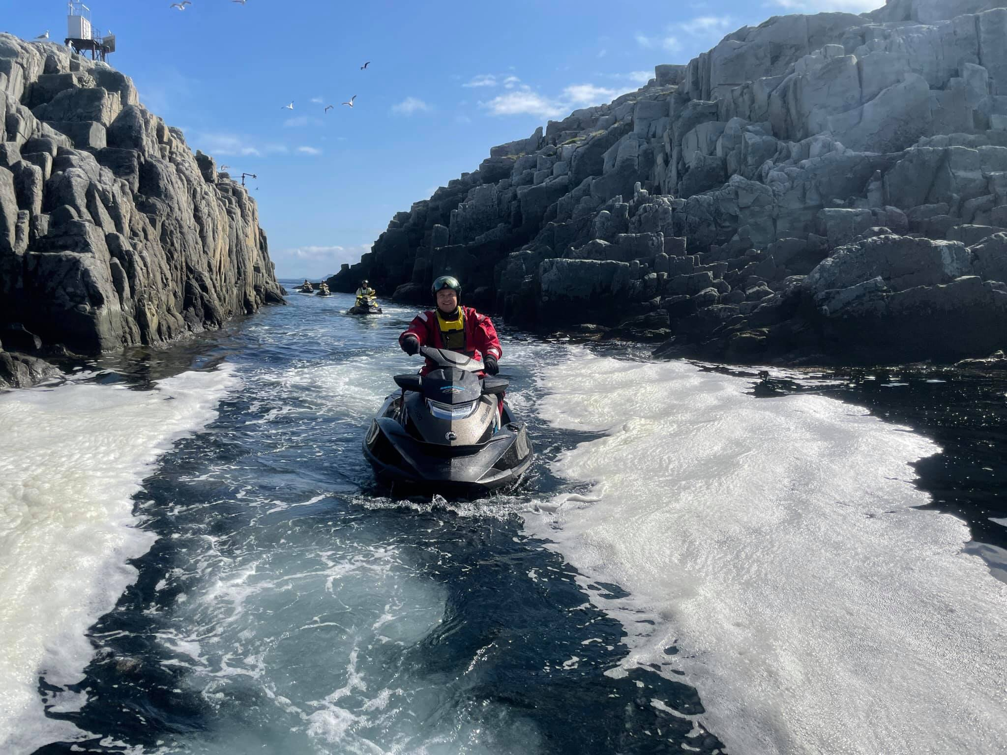 Jet Ski Safari Cape Nordkyn